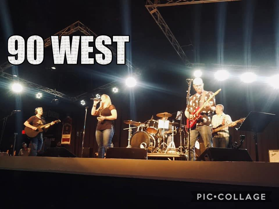 Live from the vineyard: 90 WEST Band